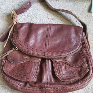 Lucky Brand Iconic Fold over Stash Bag Purse